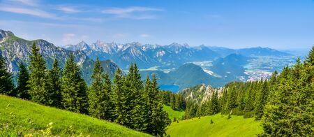 Beautiful Landscape in AllgÀu -  Alps, Tegelberg
