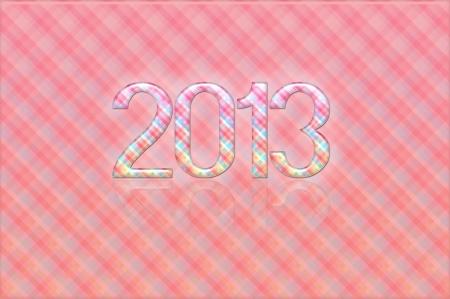 Foto per 2013 nuovo anno vintage - Immagine Royalty Free