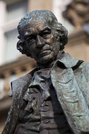 Statue of James Watt, Engineer and Inventor