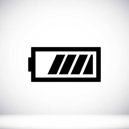 Battery icon, vector best flat icon