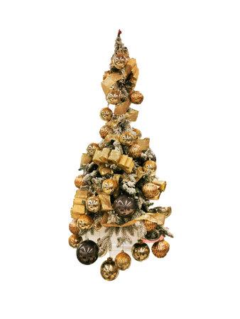 Foto de Christmas pine tree in lobby - Imagen libre de derechos