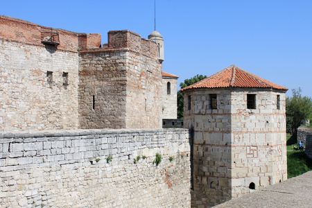 Medieval Fortress Wall and Towers