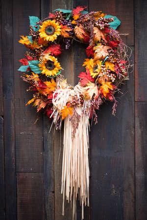 Photo pour A close up of a Autumn display. - image libre de droit