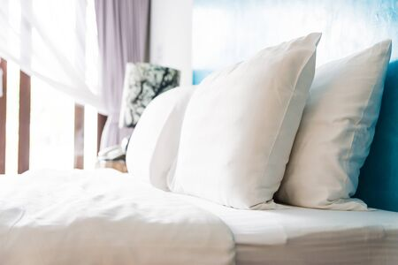 Photo pour Bed pillow - image libre de droit
