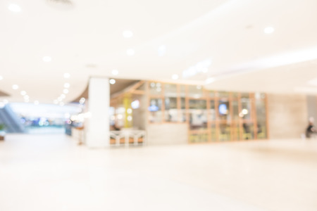 Abstract beautiful blur shopping mall and retail store interior for background