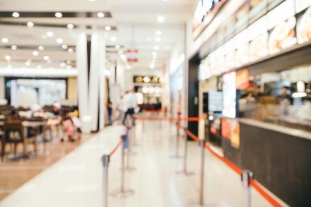 Foto für Abstract blur and defocused luxury shopping mall in department store for background - Lizenzfreies Bild