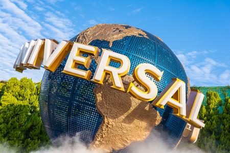 Photo for Osaka, Japan - 12 November 2018 : Beautiful amusement attraction in Universal studio Osaka Japan - Royalty Free Image