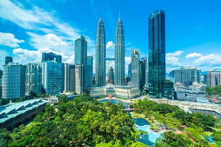 Foto für Beautiful architecture building exterior in Kuala Lumpur city in Malaysia for travel - Lizenzfreies Bild