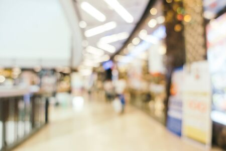Photo pour Abstract blur and defocused shopping mall of department store interior for background - image libre de droit