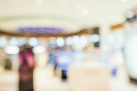 Photo pour Abstract blur and defocused airport terminal interior for background - image libre de droit