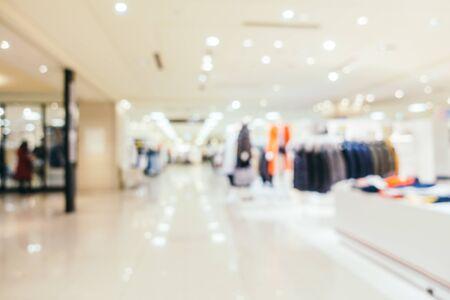 Foto für Abstract blur and defocused shopping mall and retail interior of department store - Lizenzfreies Bild