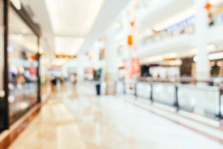 Foto für Abstract blur and defocused shopping mall of department store interior - Lizenzfreies Bild