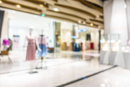 Foto für Abstract blur and defocus beautiful luxury shopping mall and retail of department store interior for background - Lizenzfreies Bild