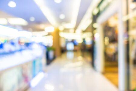 Foto für Abstract blur shopping mall in department store interior for background - Lizenzfreies Bild
