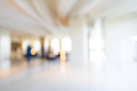 Photo pour Abstract blur hotel and lobby interior for background - image libre de droit