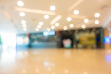 Photo pour Abstract blur and defocus supermarket of shopping mall in department store interior for background - image libre de droit