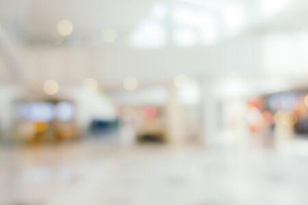 Foto de Abstract blur and defocus shopping mall in department store interior for background - Imagen libre de derechos