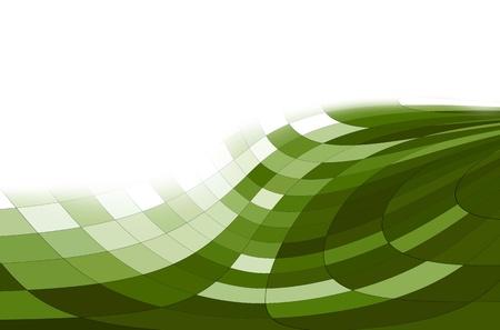 Fondo blanco y los píxeles de borde verde