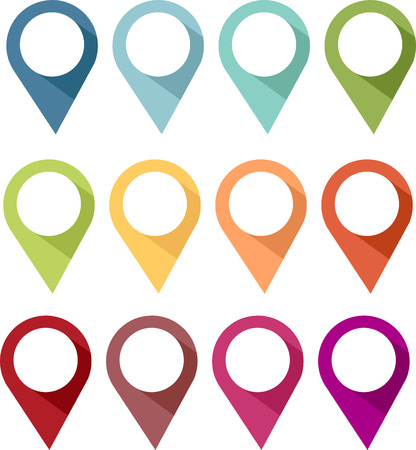 Illustration pour Pin, Label - image libre de droit