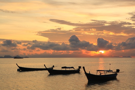 Sunrise at Koh Li pe island