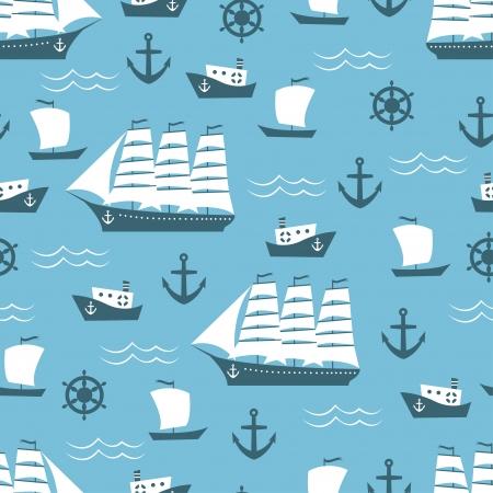 Sailing Ships Pattern