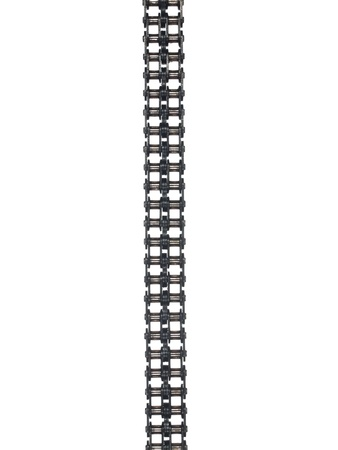Motor chain isolated on white background
