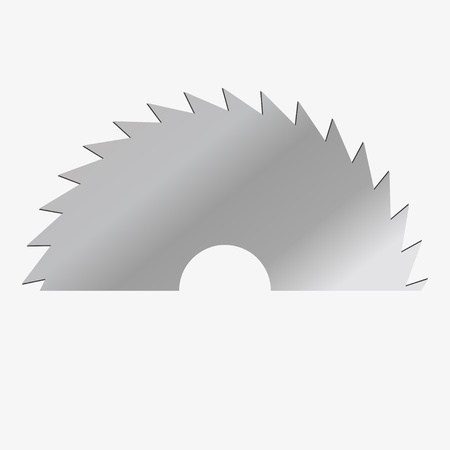 illustration circular saw