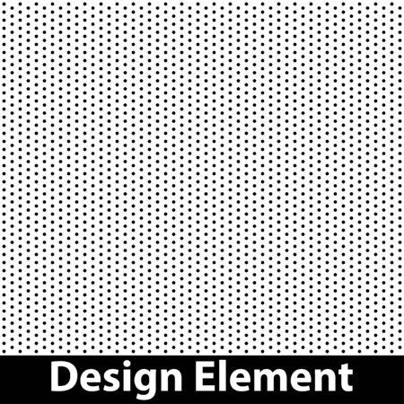 Ilustración de Vector halftone dots. Black dots on white background. - Imagen libre de derechos