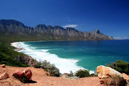 An unspoilt stretch of South African Coastline