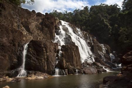 buaya sangkut water fall at malaysia johor national park endau rompin