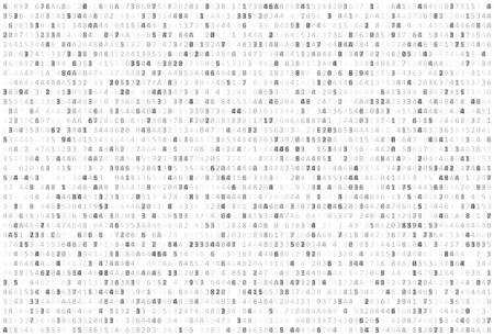 Ilustración de Abstract Matrix Background. Binary Computer Code. Coding / Hacker concept. Vector Background Illustration. - Imagen libre de derechos