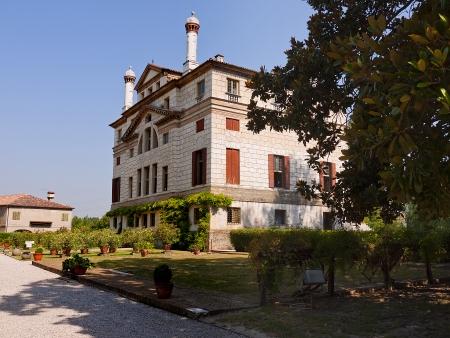Villa Foscari Malcontenta between Padua and Venice
