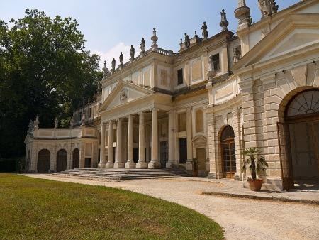 Villa Pisani one of the Palladian Villas between Padua and Venice Italy