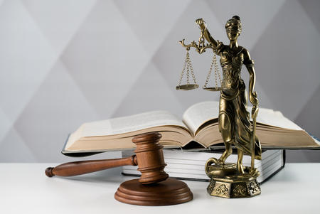 Foto für Legal law concept image, the Statue of justice - Lizenzfreies Bild