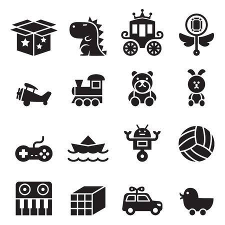 Ilustración de Toy icon set - Imagen libre de derechos