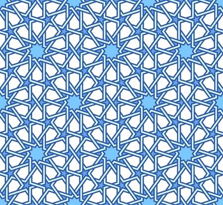 Illustration pour Traditional moorish tangled pattern - image libre de droit