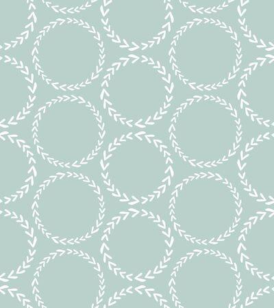 Illustration for Scandinavian style seamless pattern - Royalty Free Image