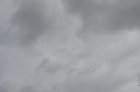 This picture shows the gloomy sky with clouds