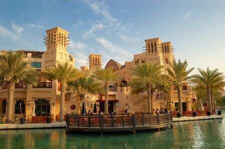 DUBAI, UAE - AUGUST 27: The Madinat Jumeirah the Arabian Resort and hotel on August 27, 2009 in Dubai, United Arab Emirates