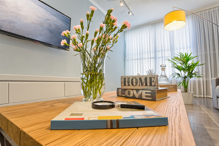 Photo pour Luxury Modern Living Room - image libre de droit