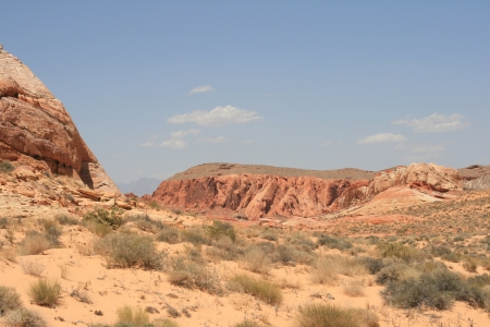 Rocks in Valley of Fire State Park Nevada