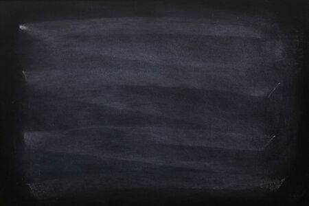 Photo for Blank chalk rubbed out on blackboard or chalkboard texture. clean school board for background. Backdrop of Education concepts. - Royalty Free Image