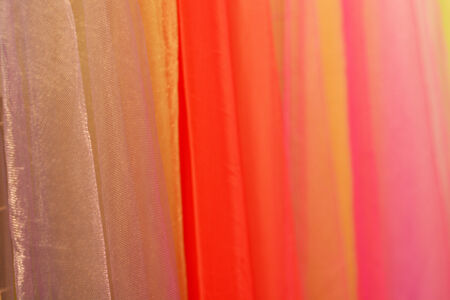 Colorful colorful fabric.