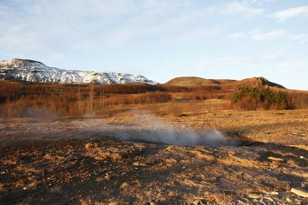 Geothermal area Strokkur