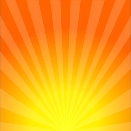 Illustration pour Sun rays background. Sunburst. Sunshine. Sunset. Summer sun. Sunrise. Eps10 - image libre de droit