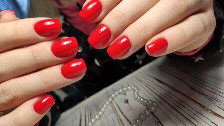 Photo pour Fashionable design of manicure. - image libre de droit