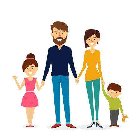 Ilustración de Beautiful Family Design. Vector Illustration - Imagen libre de derechos