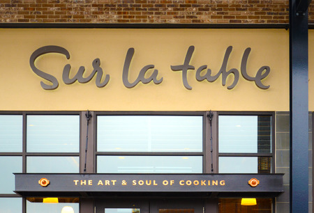 ANN ARBOR, MI - AUGUST 24: Sur La Table, whose Ann Arbor store is shown on August 24, 2014, has over 100 stores in the United States