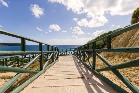 gerakas beach protected sea turtle nesting site.Greek island of Zakynthos