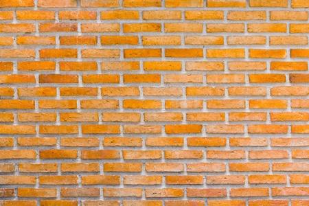 Close up red brick wall back